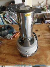 Vintage Hamilton Beach 909 Commercial Bar Mixer Blender 32oz Stainless Steel