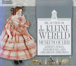 Belgium-De-Kleine-Wereld-Museum-of-Dolls-Dollhouses-Toys-Rare-Book-Values