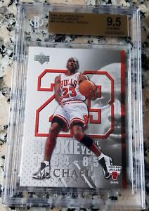 Michael Jordan 1984 Upper Deck Rookie Of The Year 2005 Card