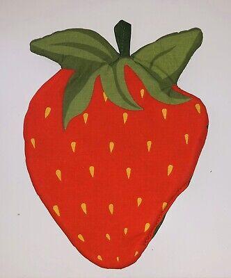 Vintage Strawberry Pot Holder Fruit Hot Pads Kitchen Gadget Tool Decorations Ebay