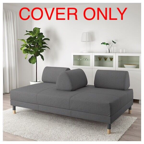 Excellent Ikea Flottebo Cover Slipcover For Sleeper Sofa Bed Lysed Dark Gray 603 425 00 47 Gmtry Best Dining Table And Chair Ideas Images Gmtryco
