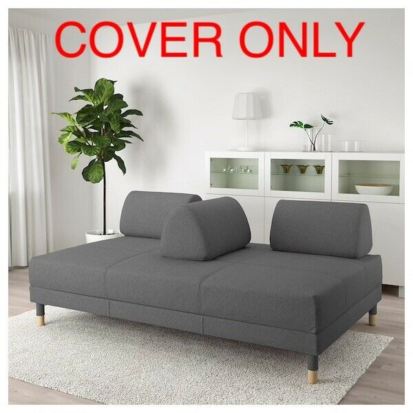 Sensational Ikea Flottebo Cover Slipcover For Sleeper Sofa Bed Lysed Dark Gray 603 425 00 47 Gmtry Best Dining Table And Chair Ideas Images Gmtryco