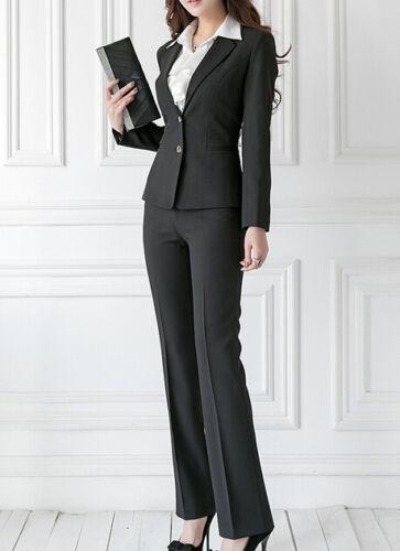 à pantalon 7054 manches noir femmes longues et Costume veste complet Cod gnqSxAwxT