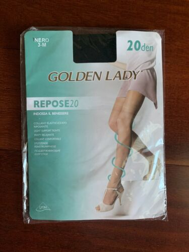 Vintage Golden Lady pantyhose Light Support Tights