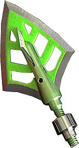 DirtNap Gear DRT Green 100gr Broadhead Double Bevel