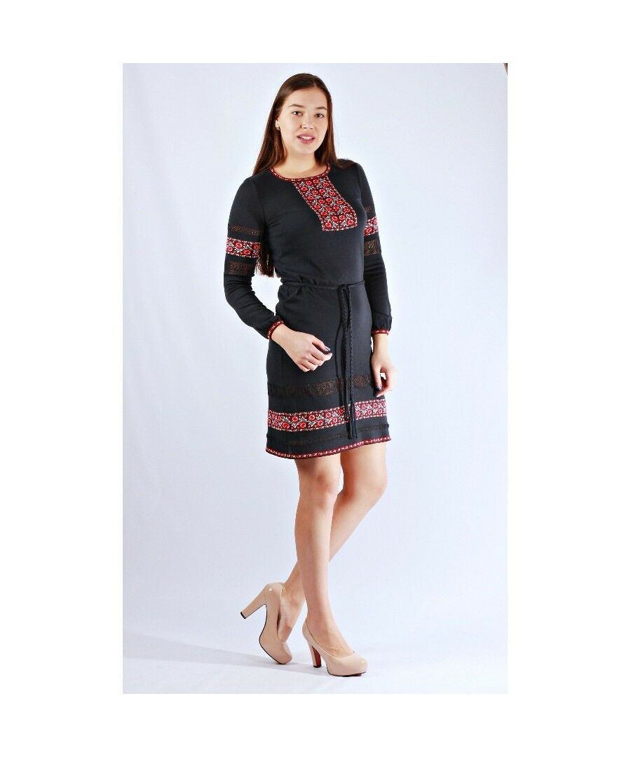 Ukrainian Ukrainian Ukrainian Women's Dress Embroidery Vyshyvanka Textile f21c6f