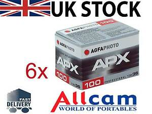 6-Pack-Agfa-APX-100-135-36-Profesional-BLANCO-Y-NEGRO-Pelicula-ISO100-36-exp
