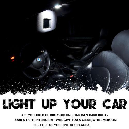 18pcs white for Mercedes Benz C class Coupe CL203 LED Bulb Interior Light 01-07
