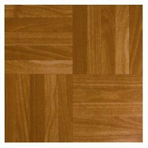 Details zu 36 X DIY Self Adhesive Wood SQUARES BATHROOM KITCHEN Floor Tiles