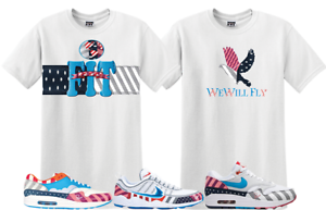 f15e6cd40 We Will Fit shirt match Nike air max 1 Parra Pure platinim zoom ...