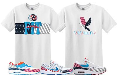 le dernier 03ff0 79bda We Will Fit shirt match Nike air max 1 Parra Pure platinim ...