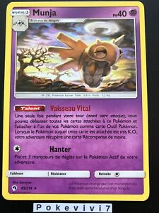 Pokemon Card Shedinja 95 214 Rare Sun And Moon 8 Sl8 Tonnerre Perdu Fr New Ebay