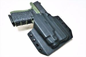 Details about Kydex Holster for Glock 19 with TLR-7- OWB Holster Glock 19  TLR7