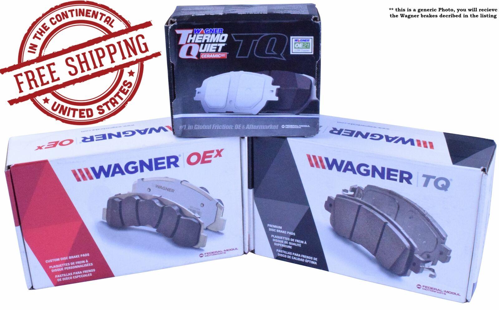 1 Pack OE STOP OS1161 Ceramic Premium Brake Pad Set With Installation Hardware Rear