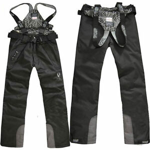 Men-039-s-Ski-Snow-Pants-Outdoor-Waterproof-Trousers-Salopettes-Trousers-Winter-New