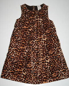 551e91e3e5 BABY GAP Leopard Print Jumper Dress Girls Size 4 ADORABLE! Boutique ...