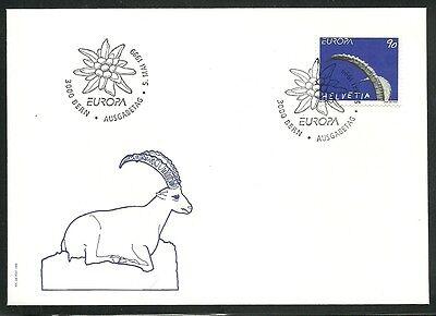 Gut Ausgebildete Cept 1999 Natur+nationalparks/ Schweiz Minr 1685 Fdc Cept/europa Union & Mitläufer