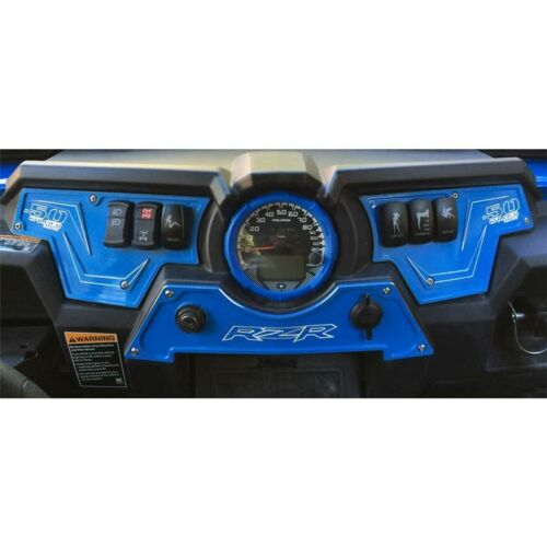 Polaris RZR XP1000 XP 1000 Dashboard Panel Custom Upgrade Billet Aluminum Blue