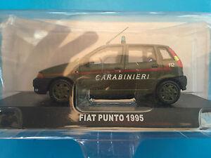 DIE-CAST-034-FIAT-PUNTO-1995-CARABINIERI-034-SCALA-1-43-CARABINIERI