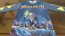 MEGADETH Rust inPeace / Long Sleeve T-Shirt / 100% Polyester - XL
