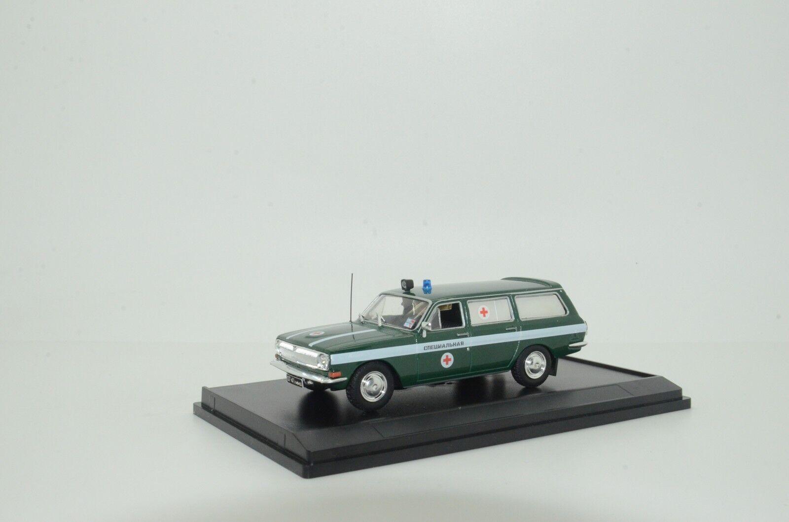 Mega Raro GAZ Volga 24-02 coche ambulancia médica Hecho a Medida 1 43