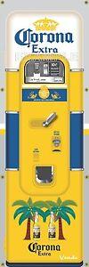 BUSCH LIGHT BEER VENDING MACHINE RETRO VINTAGE REMAKE ART BANNER MURAL SIGN 2x6