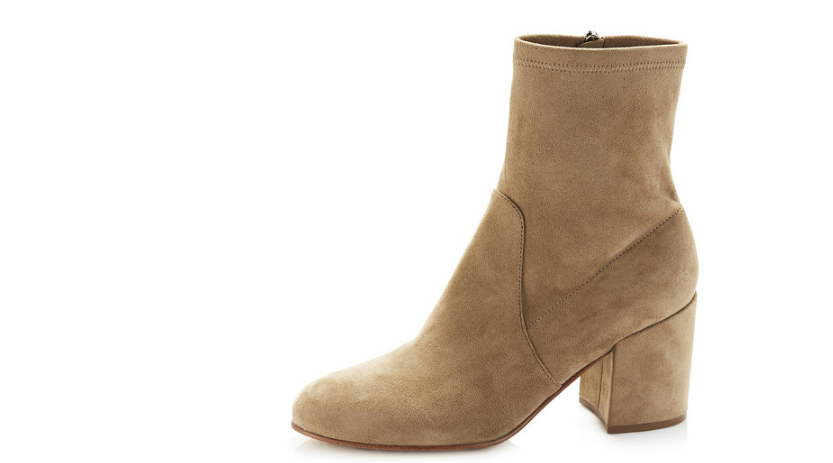 Marc Fisher Ileesia Ankle Boot with Block Heel Camel UK 3 EUR 36 rrp