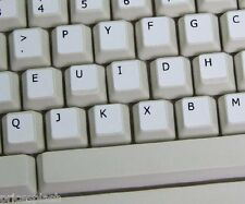 Dvorak White Keyboard Stickers with Black Letters Laptop Computer Notebook PC
