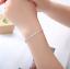 Bracciale-Tennis-Uomo-Donna-Acciaio-Inox-Argento-Cristalli-Bianco-Oro-Diamanti miniatura 10