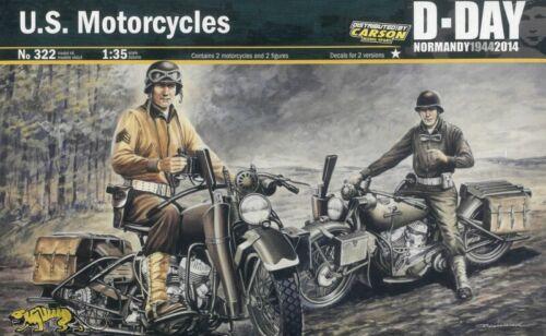 1:35 US Motorcycles Italeri 322