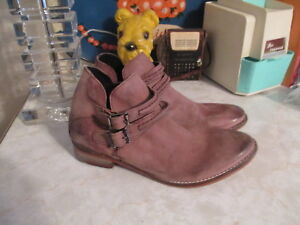b7e5c971108b Image is loading Free-people-BRAEBURN-Distressed-Leather-ankle-boots-size-