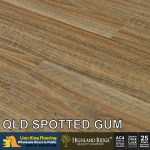 12mm Laminate Flooring Long Board Colour Qld Spotted Gum Embossing Laminate Ebay