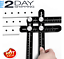 Universal Ruler-Full Metal Multi Angle Measuring Tool Upgraded Aluminum Alloy