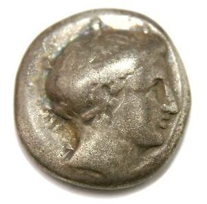 Chalkis-Euboia-AR-Drachm-16-mm-3-45-g-c-338-308-BC