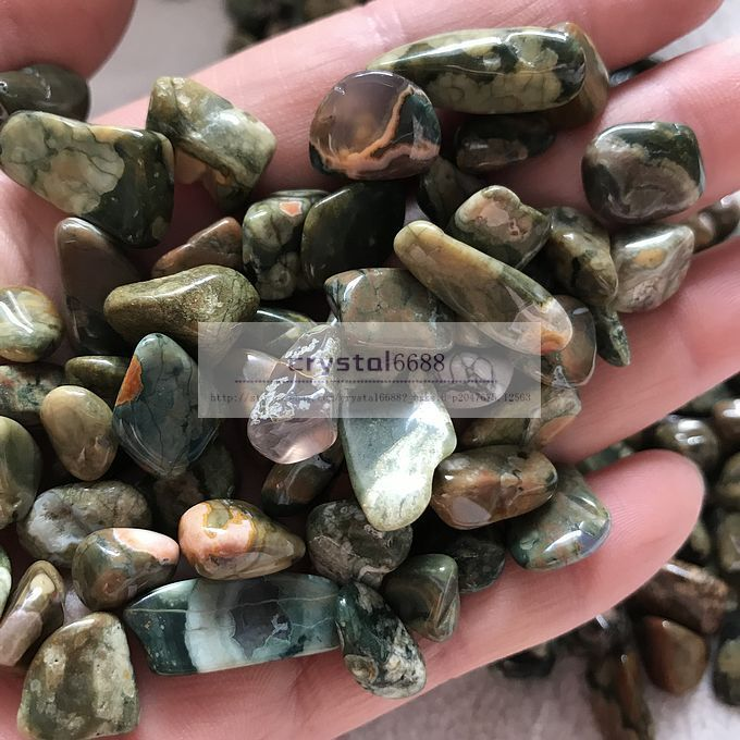 *ONE* OCEAN JASPER Natural Tumbled Stone Approx 15-20mm *TRUSTED SELLER*