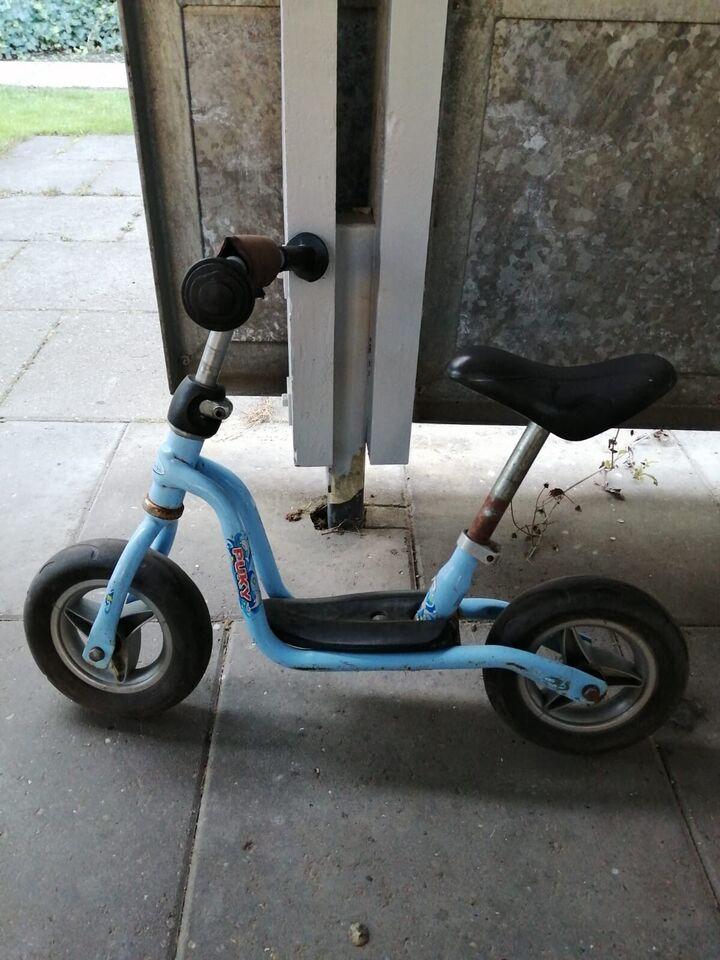 Unisex børnecykel, løbecykel, stelnr. Har den her gå cykel