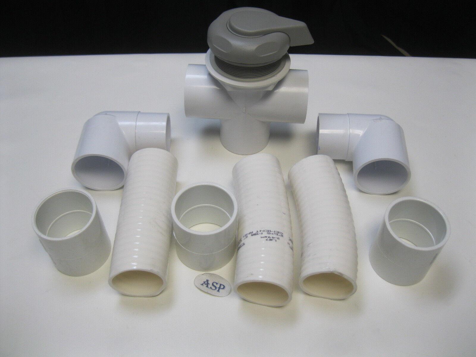 Spa Hot Tub Diverter Handle Knob 4 Long 2 Wide Gray