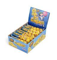 Emoji Gumballs 24 Count (5-pack) 120 Gumballs Bulk Free Shipping