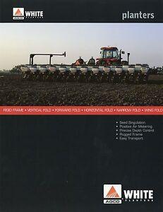 Romantisch Prospekt Usa Agco White Planters 2002 Landmaschinen Brochure Agriculture ZuverläSsige Leistung