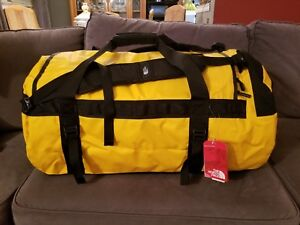 The North Face Base Camp Duffel (Large) 95L Summit Gold Luggage Bag ... f1383ba85