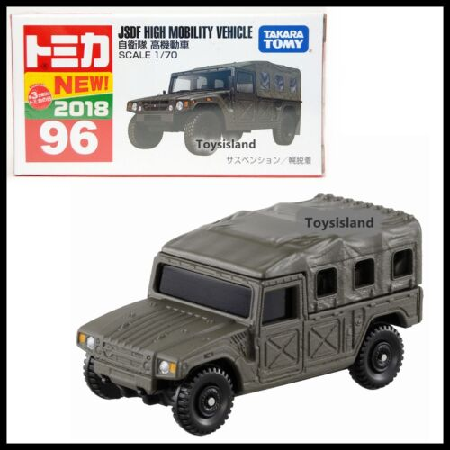 TOMICA 96 JSDF HIGH MOBILITY VEHICLE 1//70 2018 OCT NEW MODEL TOMY DIECAST CAR