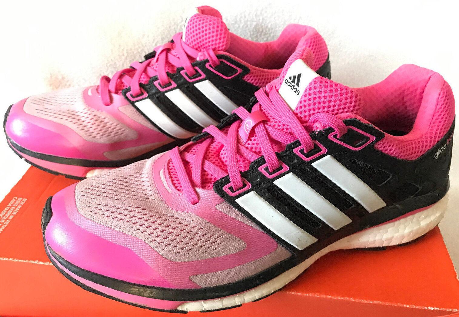 Adidas Supernova Glide 6 6 6 W Pink M17427 Blk BCA Marathon Running shoes Women's 9 03e295
