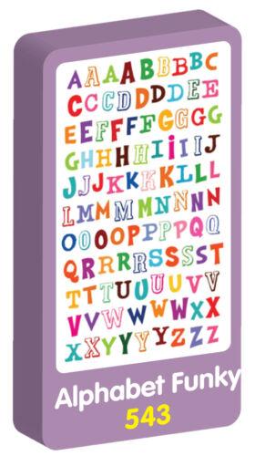 Cowboys Stickers by Purple Peach Lingo Funky Jungle Animals Alphabet Funky