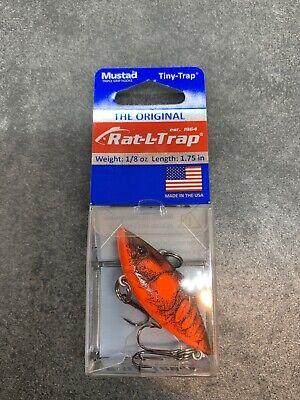 Bill Lewis RT46N Rat-L-Trap 1//2oz Natural Crawfish Fishing Lure for sale online