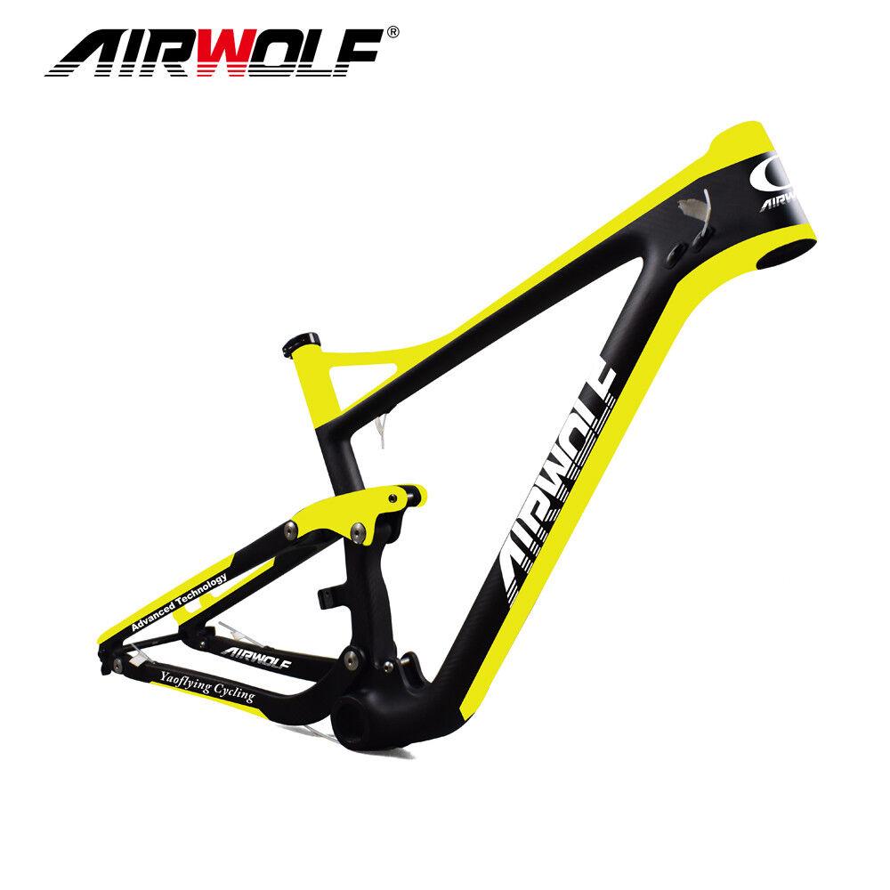 Mountain bike carbon suspensión marco 29er carbon MTB enduro bicicleta conjunto de marcos