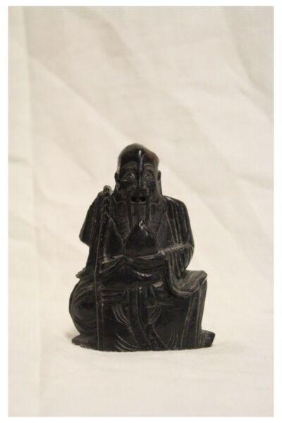 """""""saggio"""" Escultura Piedra, China, Datan Xix Siglo / Saggio Escultura China"""