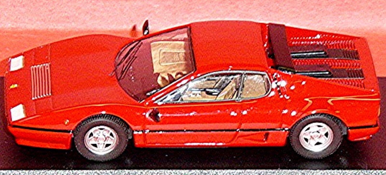 Concours de souliers fou de Noël Ferrari Ferrari Ferrari 512BB COUPÉ 1976-84 ROUGE ROUGE 1:43 meilleur 824e28