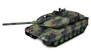 RC Panzer Leopard 2A6 1:16 Advanced Line Schuss, Rauch, Sound IR/BB