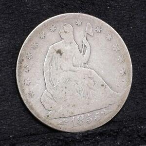 1855-O-Liberty-Seated-Half-Dollar-Fair-29615