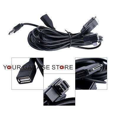 Adapter Direkte Verbindung Schnittstelle Kabel Für Kenwood KCA-iP202 iPod Video